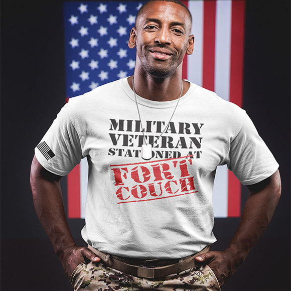 Military Veteran Stationed At Fort Couch T-Shirt - PrintMeLLC