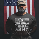 Proud Veteran Of The United States Army T-Shirt - PrintMeLLC