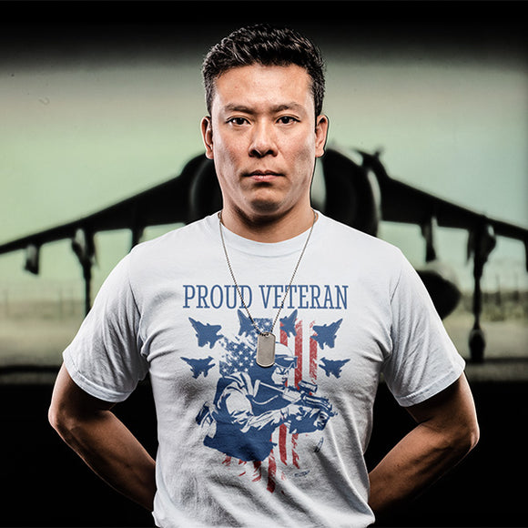 Proud Veteran Military T-Shirt - PrintMeLLC