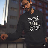 Bulldog So Cute Adult Unisex Hoodie - PrintMeLLC