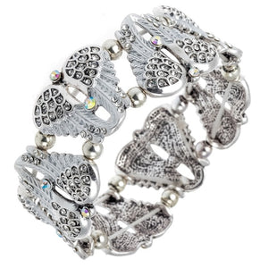 Angel Wings Stretch Bracelet For Women