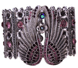 Guardian Angel Wings Stretch Cuff Bracelet For Women
