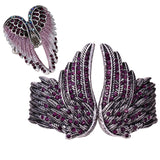 Angel Wing Bracelet And Ring Jewelry Set For Women