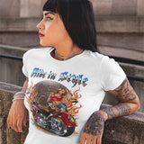 Ride In Style Womens T-Shirt - PrintMeLLC