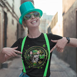 My Frenchie Is My Lucky Charm Women's St. Patrick's Day T-Shirt