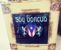 SOY BORICUA HANDCRAFTED DOMINO TABLE (FREE SHIPPING)