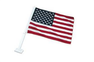 UNITED STATES CAR WINDOW BANNER FLAG (DOZEN)