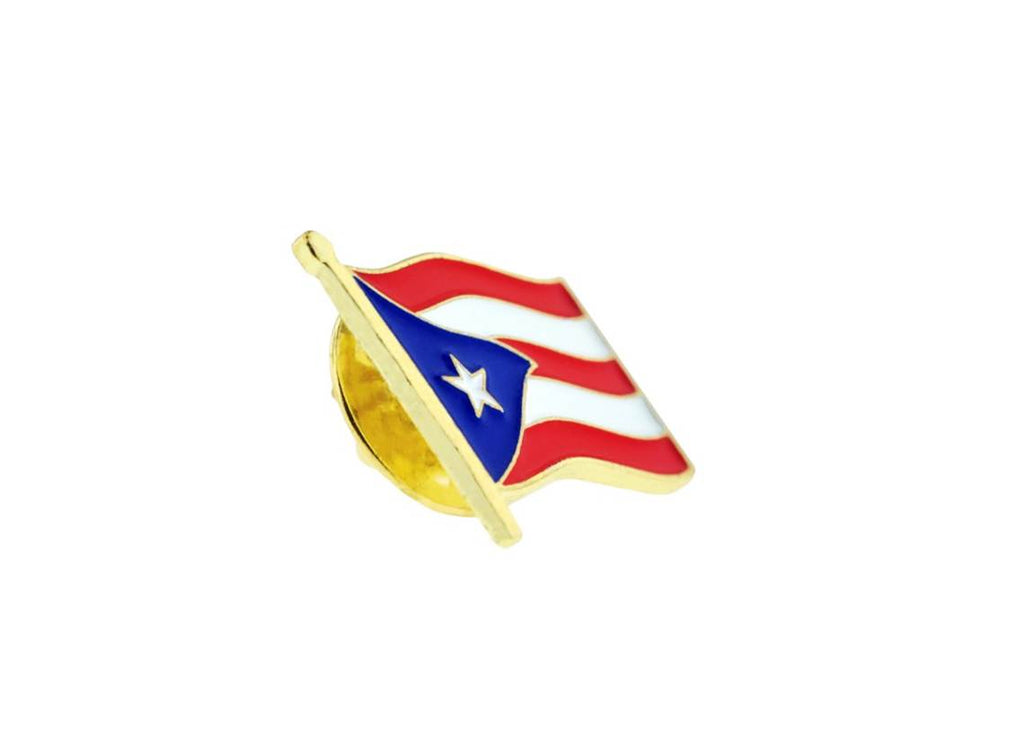 Puerto Rico national flag pin lapel pin badge