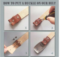 How to put a buckle to your belt of Puerto Rico