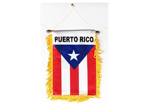 Puerto Rico car Mini Banner
