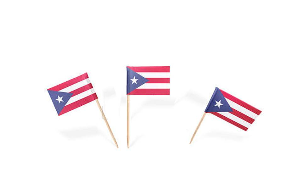 Puerto Rico flag toothpicks (100 count)