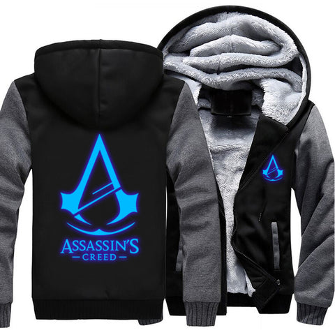 New Exclusive Assassin's Creed | Glow At Night Hoodie - Limited Edition