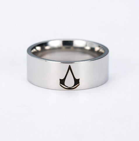 Assassin Creed Stainless Ring Memorial Ring Collection Gift