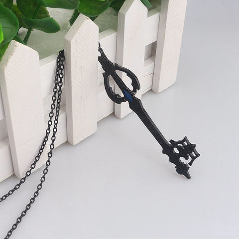 Kingdom Hearts Oblivion Blade Charms Necklace Figure Cosplay For Women