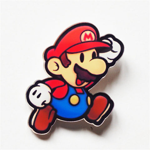 Super Mario Acrylic Backpack Clothes Decoration Badge Pin For Rewards and Gift