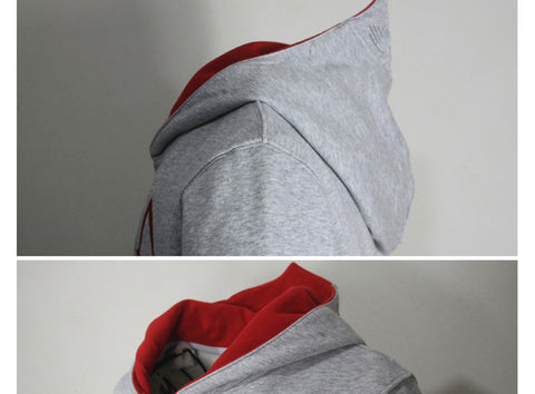 Fashion Men Assassins Creed Hooded Sweatshirt Winter Solid Hoodie