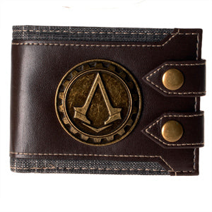 High Quality Assassins Creed Mens Wallet