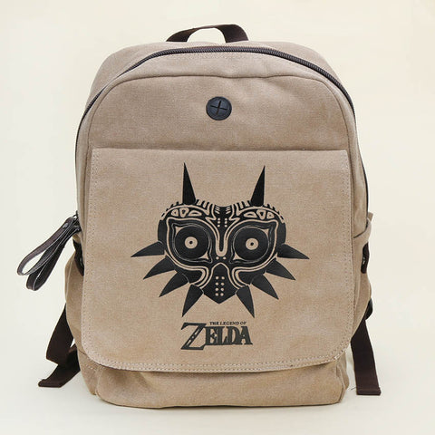 Anime Dragon The Lngend of Zelda Canvas Backpack