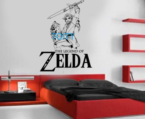 Legend of Zelda Sticker Wall Room Decor & Art