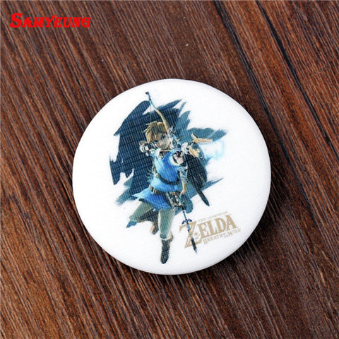 Zelda Badges For School Bag, Anime Jewelry Coat Badge Brooch Friendship Brosch