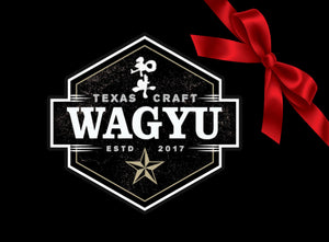 Texas Craft Wagyu gift cards
