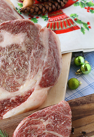Marbled Wagyu beef is the perfect gift for your favorite carnivore. Give the best beef in DFW.