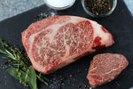 Texas Craft Wagyu dry aged Wagyu Ribeye and Filet Mignon (Tenderloin). Craft steaks. Dallas delivery.