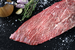 Texas Craft Wagyu dry aged Wagyu Flat Iron. Craft steaks. Dallas delivery.