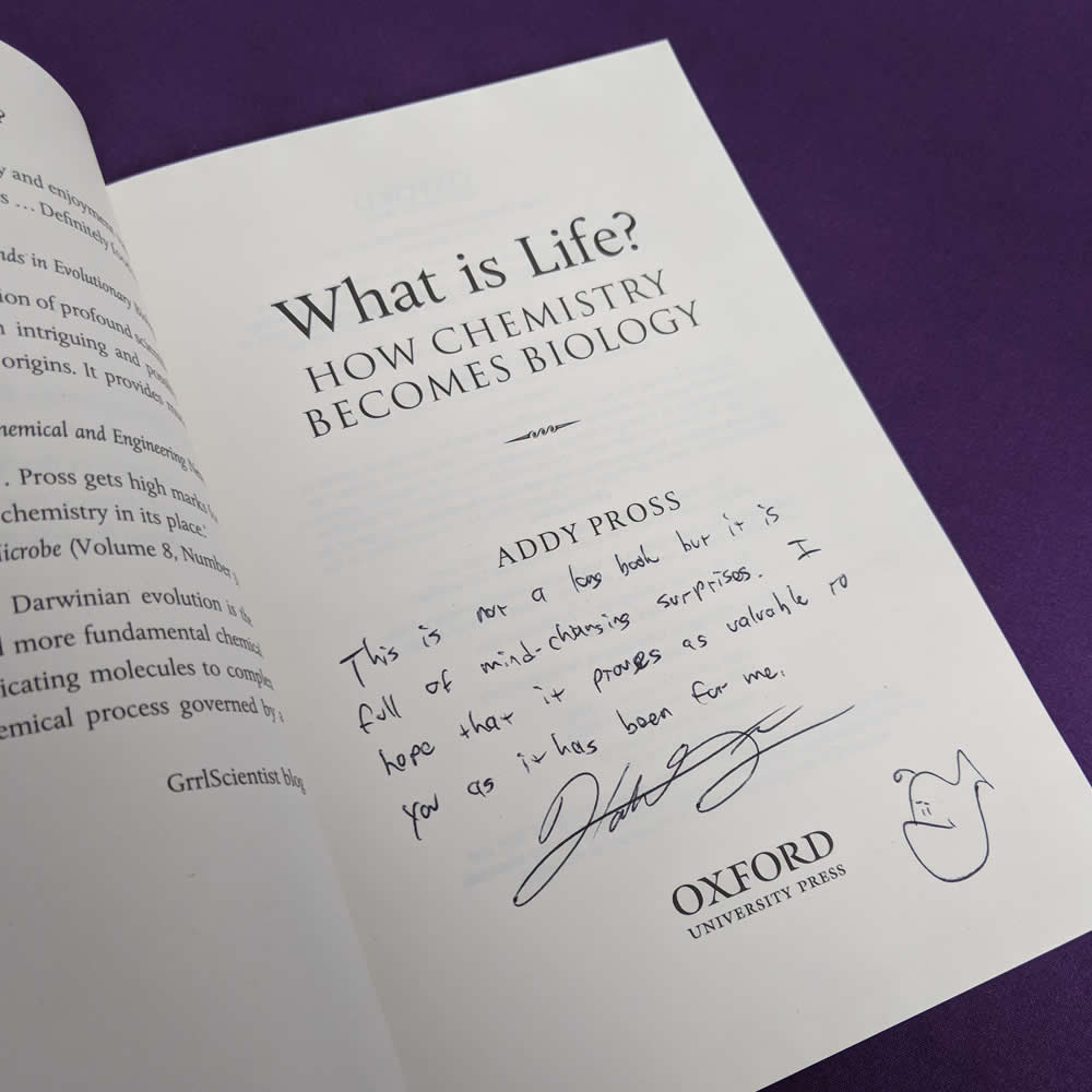 What is Life (inscribed by Hank)