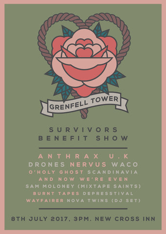 Grenfell Tower Benefit Show