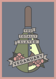 Veganuary Card