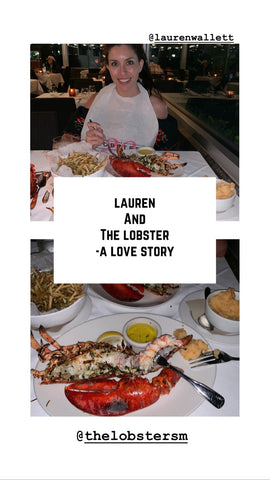 lauren and the lobster