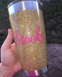 Ombre Cup- Ombre Tumbler-Glitter Tumbler- Glitter Cup-Sparkle Cup- 20oz Tumbler- 30oz Tumbler