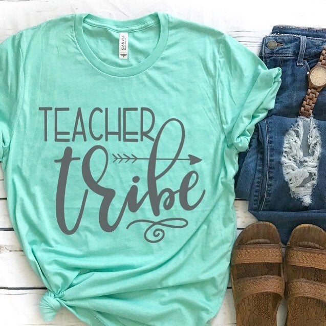 Teacher Tribe, teacher gifts, teacher apparel