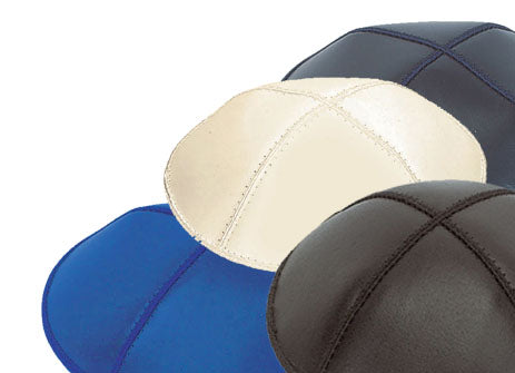 Leather Kippot