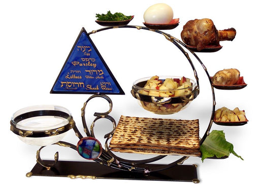 Circle of Life Seder Set Seder Plates - Mitzvahland.com All your Judaica Needs!