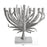 Palm Menorah Nickel Plate Michael Aram