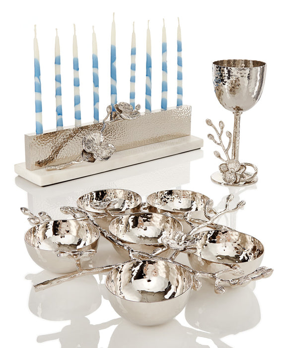 White Orchid Kiddush Cup