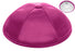 Fuchsia Deluxe Satin Kippah - Per Piece Kippot / Yarmulkes - Mitzvahland.com All your Judaica Needs!