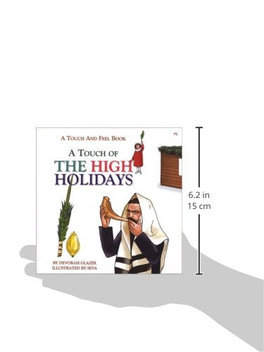 A Touch of the High Holidays: A Touch and Feel Book for Rosh Hashanah, Yom Kippur and Sukkot Hardcover Children's - Mitzvahland.com All your Judaica Needs!