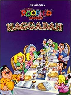 The Doodle Family Haggadah - Hebrew and English Hardcover