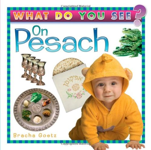 What do You See on Pesach - Board-book