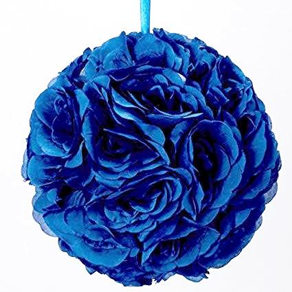 Royal Blue Rose Ball