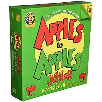 Apples to Apples Junior 9 Plus Jewish Edition by Jewish Educational Toys  - Mitzvahland.com All your Judaica Needs!