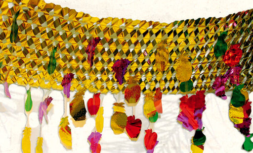 Foil Sukkah Decoration Sukkah Decorations - Mitzvahland.com All your Judaica Needs!