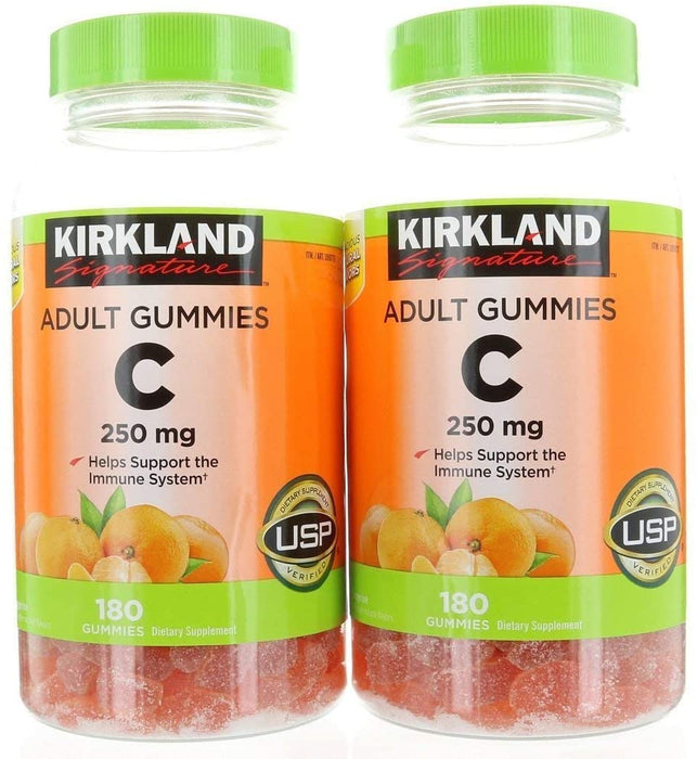 Kirkland Signature Vitamin C 250 mg, 360 Adult Gummies