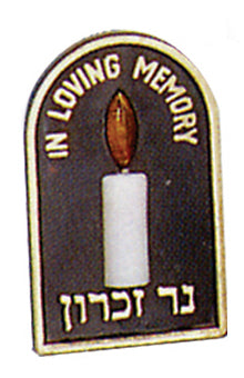 Electric Memorial Lamp Plug In Special Services - Mitzvahland.com All your Judaica Needs!