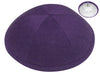 Purple Linen Kippah