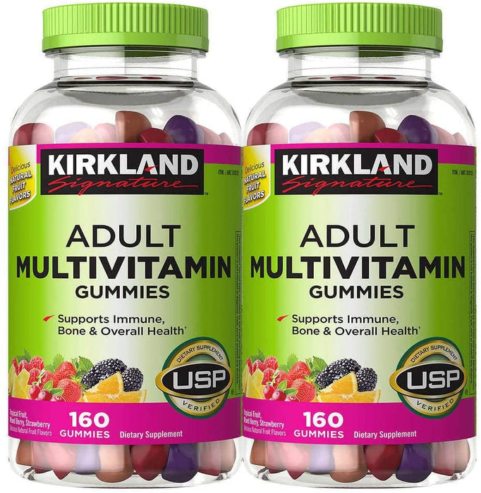 Kirkland Signature Adult Multivitamin, 320 Gummies
