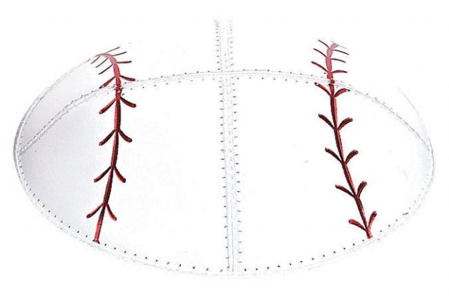 Baseball Leather Kippah Kippot / Yarmulkes - Mitzvahland.com All your Judaica Needs!